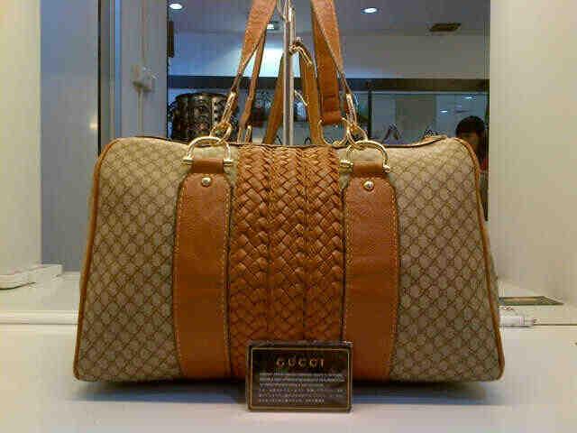Tas Tangan Gucci Anyaman Motif (kode: GUC002)